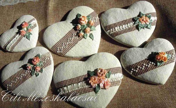Vintage szívek