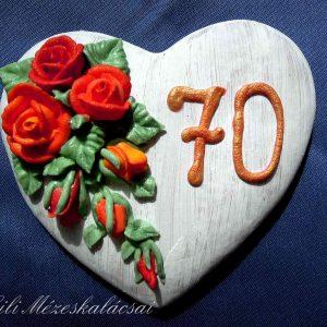 Rózsás szív